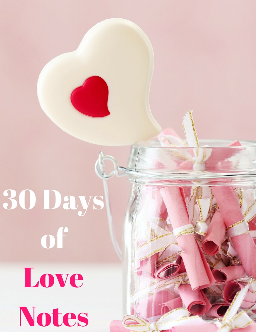 30 Days Of Love Notes What Mj Loves